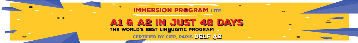IMMERSION PROGRAM Lite French A1 & A2
